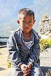 Boy in Khonoma village, Nagaland