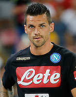 Christian Maggio  during the friendly soccer match,between SSC Napoli and Onc Nice      at  the San  Paolo   stadium in Naples  Italy , August 01, 2016<br />  during the friendly soccer match,between SSC Napoli and Onc Nice      at  the San  Paolo   stadium in Naples  Italy , August 02, 2016