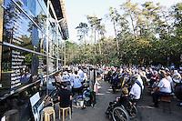 Zahlreiche Besucher zur Eröffnungsfeier der Lern- und Gedenkstätte