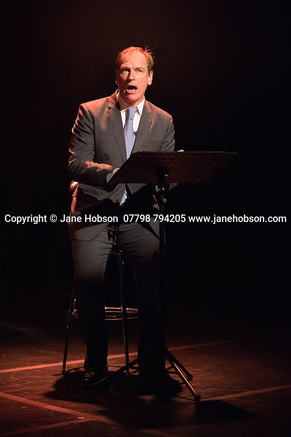 Edinburgh, UK. 02.08.2014. The Pleasance hosts its press launch in its 30th anniversary year on the Fringe. Picture shows: FORGOTTEN VOICES which is taken from the Imperial War Museum's oral testimonies of the veterans of World War One. Picture shows: Julian Sands. Photograph © Jane Hobson,