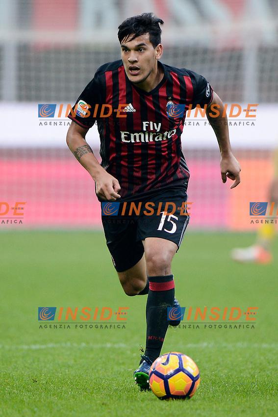 Gustavo Gomez Milan<br /> Milano 30-10-2016 Stadio Giuseppe Meazza - Football Calcio Serie A Milan - Pescara. Foto Giuseppe Celeste / Insidefoto