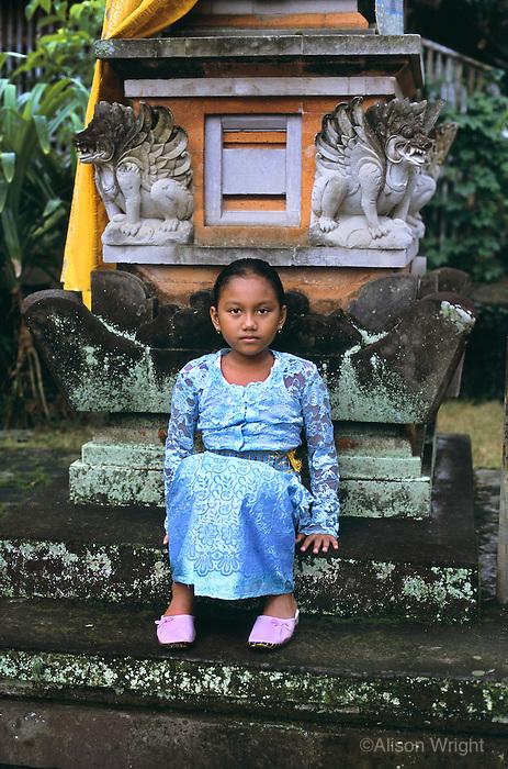Girl in Bali Indonesia, 2005
