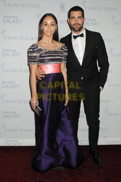 10 January 2015 - Santa Monica, California - Cara Santana, Jesse Metcalfe. The Art of Elysium&rsquo;s 8th Annual Heaven Gala held at Hangar 8.   <br /> CAP/ADM/BP<br /> &copy;Byron Purvis/AdMedia/Capital Pictures