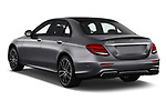 Car pictures of rear three quarter view of 2019 Mercedes Benz E-Class AMG-E53 4 Door Sedan Angular Rear