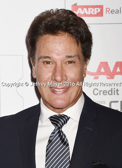 BEVERLY HILLS, CA - FEBRUARY 08: Singer Fernando Allende attends AARP's Movie For GrownUps Awards at the Regent Beverly Wilshire Four Seasons Hotel on February 8, 2016 in Beverly Hills, California.