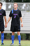 30 August 2015: DePaul's Caleb Pothast. The Duke University Blue Devils hosted the DePaul University Blue Demons at Koskinen Stadium in Durham, NC in a 2015 NCAA Division I Men's Soccer match.