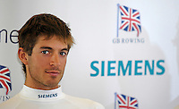 Reading, GREAT BRITAIN, Zac PURCASE, GB Rowing 2007 FISA World Cup Team Announcement, at the GB Training centre, Caversham, England on Thur. 26.04.2007  [Photo, Peter Spurrier/Intersport-images]..... , Rowing course: GB Rowing Training Complex, Redgrave Pinsent Lake, Caversham, Reading