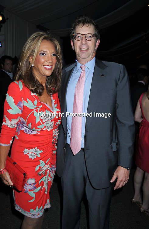 Denise Rich and Bill Rudin arriving at The 2010 Fete de Swifty .which benefits The Mayor's Fund to Advance New York City on September 29, 2010 at  73rd Street and Lexington Avenue in New York City.