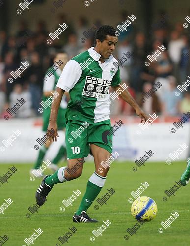2008-08-30 / Voetbal / KV Turnhout - RC Mechelen / Lucas MArcos..Foto: Maarten Straetemans (SMB)