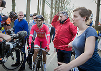 Nacer Bouhanni after  (FRA/Cofidis) after winning the 72nd Nokere Koerse 2017