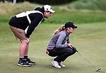 Amelia Garvey. McKayson NZ Women's Golf Open, Round Two, Windross Farm Golf Course, Manukau, Auckland, New Zealand, Friday 29 September 2017.  Photo: Simon Watts/www.bwmedia.co.nz