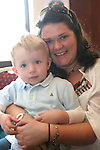 Denise and Simon Fogarty at the Coffee Morning in the Glenside in aid of Jack and Jill Foundation and S.O.F.T Ireland...Photo NEWSFILE/Jenny Matthews.(Photo credit should read Jenny Matthews/NEWSFILE)....This Picture has been sent you under the condtions enclosed by:.Newsfile Ltd..The Studio,.Millmount Abbey,.Drogheda,.Co Meath..Ireland..Tel: +353(0)41-9871240.Fax: +353(0)41-9871260.GSM: +353(0)86-2500958.email: pictures@newsfile.ie.www.newsfile.ie.FTP: 193.120.102.198.