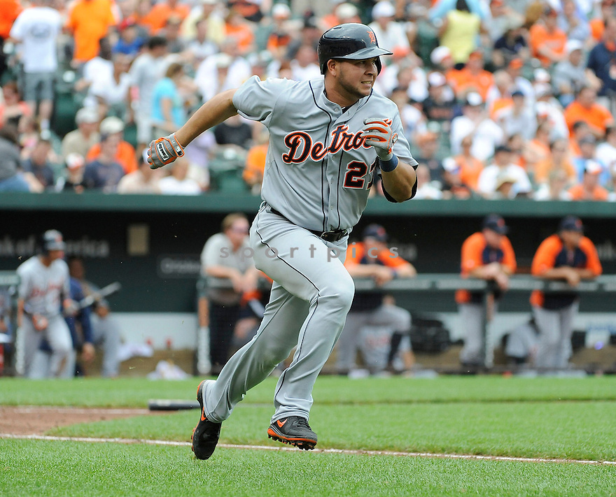 Detroit Tigers Jhonny Peralta (27) during a game against the Baltimore Orioles on June 2, 2013 at Oriole Park in Baltimore, MD. The Orioles beat the Tigers 4-2.