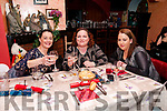 Womens Christmas Party: Attending the Womens Christmas Party at McCarthy's Bar, Finuge on Saturday night last were Bridget Liston, Denise Fitzgerald & Rachel Walsh.