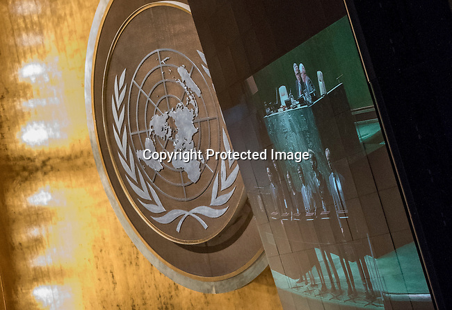 General Assembly 70th session 33rd plenary meeting<br /> Elections to fill vacancies in principal organs: Election of five non-permanent members of the Security Council [item 112 ((a)]