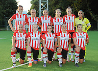 20160824 - GENT , BELGIUM : PSV Eindhoven's team pictured during a friendly game between KAA Gent Ladies and PSV Eindhoven during the preparations for the 2016-2017 season , Wednesday 24 August 2016 ,  PHOTO Dirk Vuylsteke   Sportpix.Be