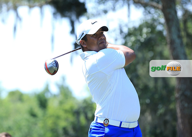 Jhonattan Vegas (VEN)  during the First Round of The Players, TPC Sawgrass,   Florida, USA. 12/05/2016.<br /> Picture: Golffile | Mark Davison<br /> <br /> <br /> All photo usage must carry mandatory copyright credit (&copy; Golffile | Mark Davison)