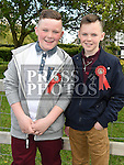 Conor Dyas and Ciaran Nugent who were confirmed in the Holy Family church Ballsgrove. Photo:Colin Bell/pressphotos.ie