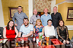 Caitriona Griffin, Colm Griffin, Aoife O'Connor, Rose Brosnan, Kerri O'Connor Back l-r Liam Horan, Martin Moore, Mike Brosnan, Stephen Byrne  enjoying  the Brogue Inn Marathon After party on Saturday