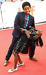 Serenity Brown and Issac Brown attends the 'Kings' premiere during the 2017 Toronto International Film Festival at Roy Thomson Hall on September 13, 2017 in Toronto, Canada.