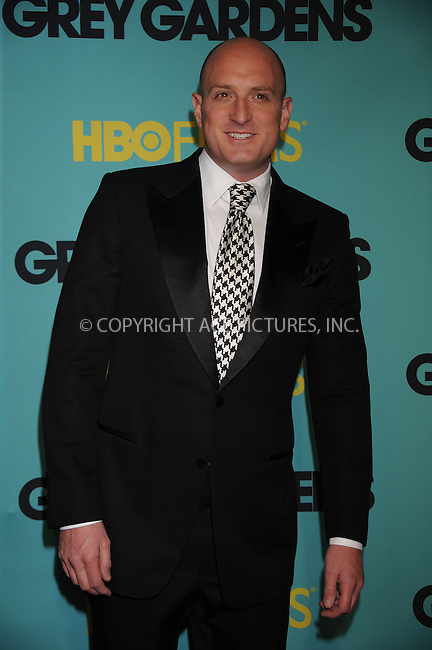 WWW.ACEPIXS.COM . . . . . ....April 14 2009, New York City....Director Michael Sucsy at the HBO Films premiere of 'Grey Gardens' at The Ziegfeld Theater on April 14, 2009 in New York City.....Please byline: KRISTIN CALLAHAN - ACEPIXS.COM.. . . . . . ..Ace Pictures, Inc:  ..tel: (212) 243 8787 or (646) 769 0430..e-mail: info@acepixs.com..web: http://www.acepixs.com