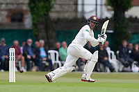 Rory Burns in batting action for Surrey during Surrey CCC vs Essex CCC, Specsavers County Championship Division 1 Cricket at Guildford CC, The Sports Ground on 9th June 2017