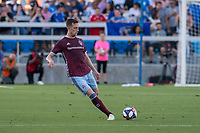 SAN JOSÉ CA - JULY 27: Danny Wilson #4 during a Major League Soccer (MLS) match between the San Jose Earthquakes and the Colorado Rapids on July 27, 2019 at Avaya Stadium in San José, California.