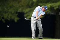 Phil Mickeson (USA) plays the 8th hole during the 1st round of the 100th PGA Championship at Bellerive Country Club, St. Louis, Missouri, USA. 8/9/2018.<br /> Picture: Golffile.ie | Brian Spurlock<br /> <br /> All photo usage must carry mandatory copyright credit (© Golffile | Brian Spurlock)