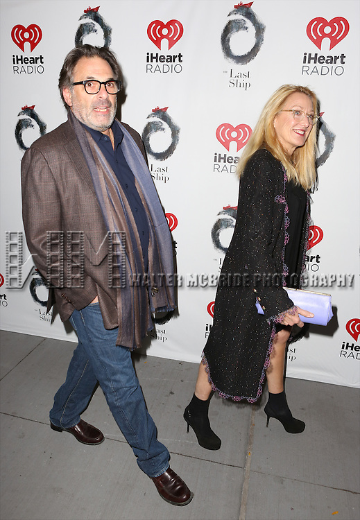 Ken Olin and Patricia Wettig attends the Broadway Opening Night performance of 'The Last Ship' at the Neil Simon Theatre on October 26, 2014 in New York City.