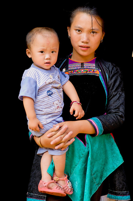 Mother and Child, Guizhou Province, China