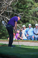 Phil Mickelson (USA) chips on to 7 during round 1 of the World Golf Championships, Mexico, Club De Golf Chapultepec, Mexico City, Mexico. 2/21/2019.<br /> Picture: Golffile | Ken Murray<br /> <br /> <br /> All photo usage must carry mandatory copyright credit (© Golffile | Ken Murray)