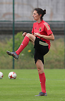 20200627 - TUBIZE , Belgium : Frieke Temmerman is pictured during a training session of the Belgian Red Flames U19, on the 27 th of June 2020 in Tubize.  PHOTO SEVIL OKTEM| SPORTPIX.BE