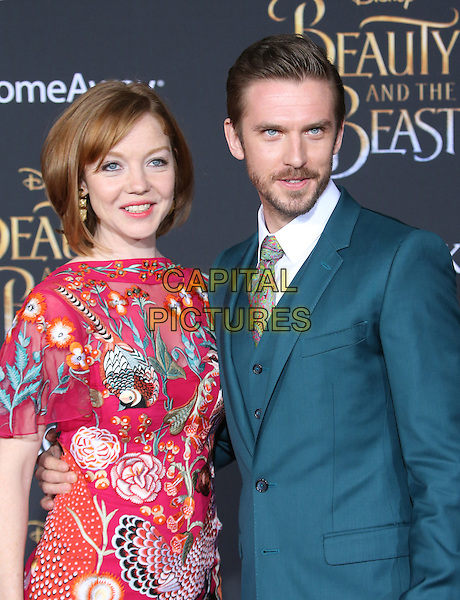 HOLLYWOOD, CA - March 02: Susie Hariet, Dan Stevens At The Premiere Of Disney's &quot;Beauty And The Beast&quot; At El Capitan Theatre In California on March 02, 2017.  <br /> CAP/MPI/FS<br /> &copy;FS/MPI/Capital Pictures