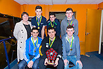 St Josephs, Duagh at The Kerry Area Basketball Board annual Awards and Medal presentations at the Kingdom Greyhound Stadium Tralee on  Tuesday