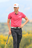 Matthias Schwab (AUT) during the final round of the Rocco Forte Sicilian Open played at Verdura Resort, Agrigento, Sicily, Italy 13/05/2018.<br /> Picture: Golffile | Phil Inglis<br /> <br /> <br /> All photo usage must carry mandatory copyright credit (&copy; Golffile | Phil Inglis)