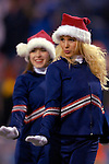 17 December 2005: Buffalo Bills cheerleaders in holiday spirit as the Bills face the Denver Broncos on at Ralph Wilson Stadium in Orchard Park, NY. The Broncos defeated the Bills 28-17. .Mandatory Photo Credit: Ed Wolfstein