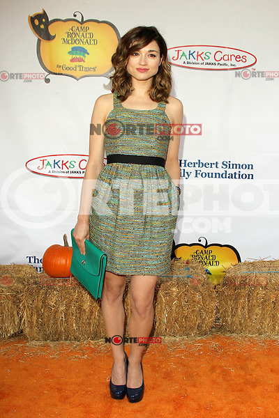 UNIVERSAL CITY, CA - OCTOBER 21:  Crystal Reed at the Camp Ronald McDonald for Good Times 20th Annual Halloween Carnival at the Universal Studios Backlot on October 21, 2012 in Universal City, California. © mpi28/MediaPunch Inc. /NortePhoto