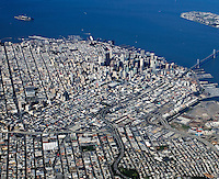 aerial photograph Mission District, San Francisco, California