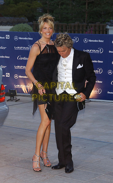 PENNY LANCASTER, ROD STEWART.Laureus World Sports Awards, Monte Carlo.www.capitalpictures.com.sales@capitalpictures.com.©Capital Pictures