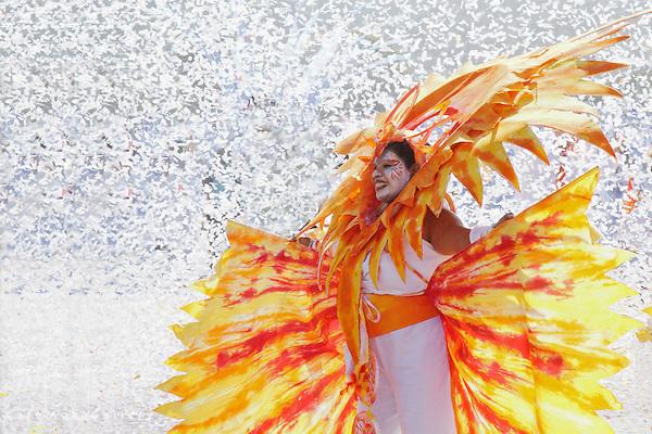 Joy - The Finale by Brian Macfarlane - Sun section dancing in white confetti