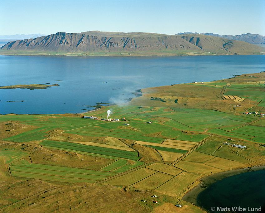 Brautarholt séð til norðvesturs, Reykjavík áður Kjalarneshreppur / Brautarholt viewing northwest, Reykjavik former Kjalarneshreppur.