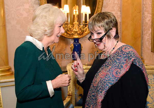 13 December 2016 - London, England - Camilla Duchess of Cornwall at a reception and recording at Buckingham Palace to mark the announcement of the Woman's Hour 70th Anniversary Power List, Buckingham Palace. Photo Credit: Alpha Press/AdMedia