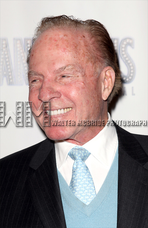 Frank Gifford attending the Broadway Opening Night Performance After Party for 'Scandalous The Musical' at the Neil Simon Theatre in New York City on 11/15/2012