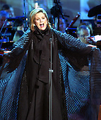 """Renee Fleming performs during the taping of the """"Concert for America"""" at the John F. Kennedy Center for the Performing Arts in Washington, D.C. on September 9, 2002..Credit: Ron Sachs / CNP"""