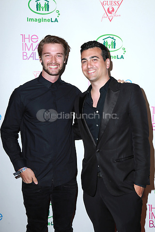 WEST HOLLYWOOD, CA - Patrick Schwarzenegger, John Terzian at the 2015 Imagine Ball Benefiting Imagine LA at the  House of Blues in West Hollywood, California on June 4, 2015. Credit: David Edwards/MediaPunch