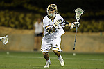 29 April 2016: Notre Dame's Anthony Marini. The University of Notre Dame Fighting Irish played the Duke University Blue Devils at Fifth Third Bank Stadium in Kennesaw, Georgia in a 2016 Atlantic Coast Conference Men's Lacrosse Tournament semifinal match. Duke won the game 10-9 in overtime.