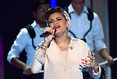Andra Day performs during the second session of the 2016 Democratic National Convention at the Wells Fargo Center in Philadelphia, Pennsylvania on Tuesday, July 26, 2016.<br /> Credit: Ron Sachs / CNP<br /> (RESTRICTION: NO New York or New Jersey Newspapers or newspapers within a 75 mile radius of New York City)