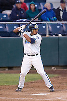 June 25, 2008: The Everett AquaSox's Henry Contreras at-bat against the Boise Hawks during a Northwest League game at Everett Memorial Stadium in Everett, Washington.