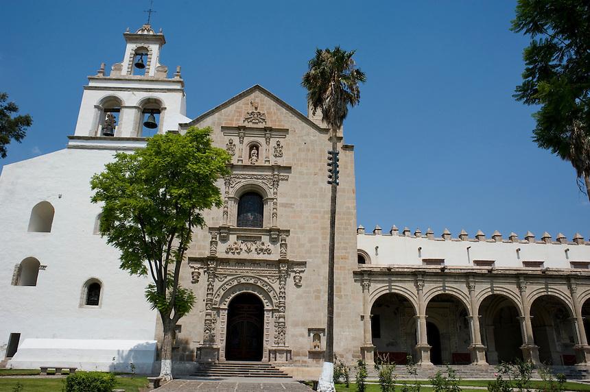 Ex-Convento Cuitzeo, Michoacan. Aromas y Sabores with chef Patricia Quintana. Michoacan, Mexico.