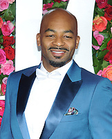 NEW YORK, NY - JUNE 10: Brandon Victor Dixon attends the 72nd Annual Tony Awards at Radio City Music Hall on June 10, 2018 in New York City.  <br /> CAP/MPI/JP<br /> &copy;JP/MPI/Capital Pictures